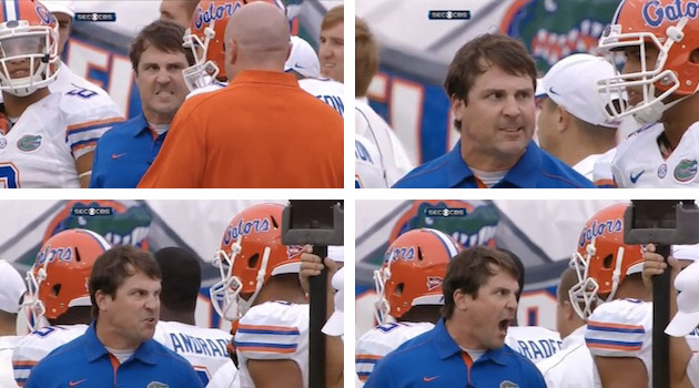 When Will Muschamp is angry, the college football world is happy