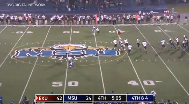 Film Study: A rare look at a legal kick-pass for a first down