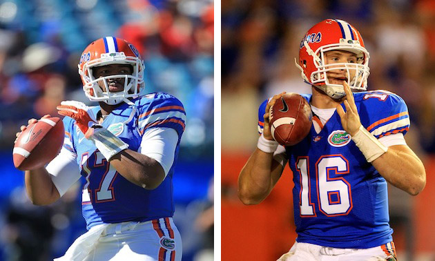 (Jacoby Brissett and Jeff Driskel/Getty Images)