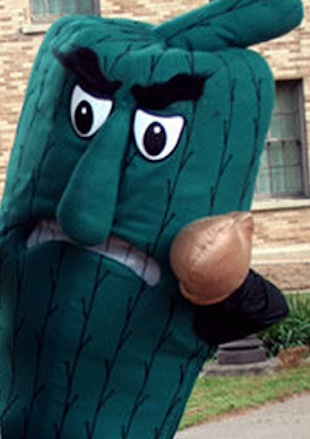 Meet Delta State's unofficial mascot: The Fighting Okra