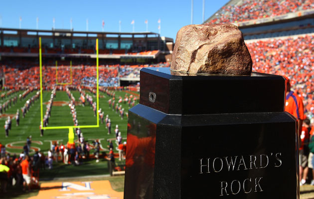 Howard's Rock before being damaged. (Scott Halleran/Getty Images)