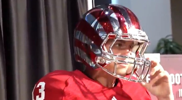 Indiana chrome helmet