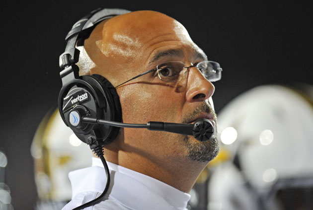 Vanderbilt coach James Franklin. (Mike DiNovo-USA TODAY Sports)