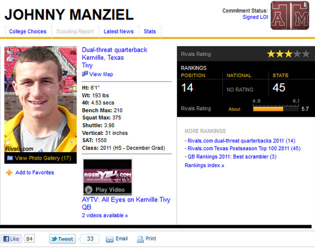 Doc Five: College football's best Cinderella stories – No. 3, Johnny Manziel wins the Heisman