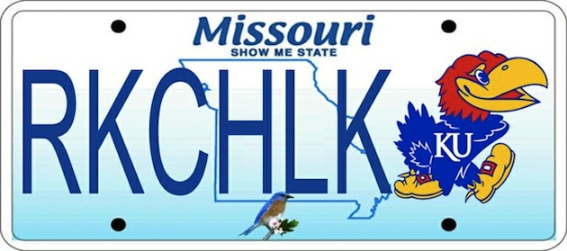 Missouri Rep. holds Kansas-themed license plates hostage unless Kansas and Missouri play again