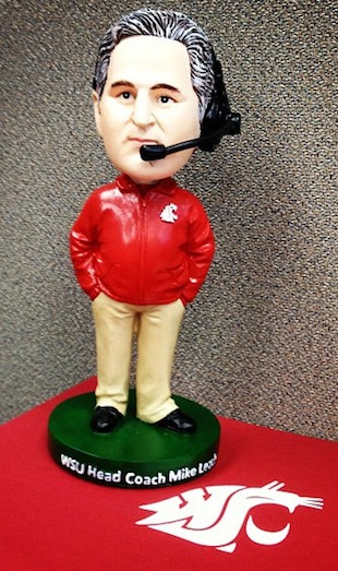 The Mike Leach bobblehead is now a reality, but not easily attainable