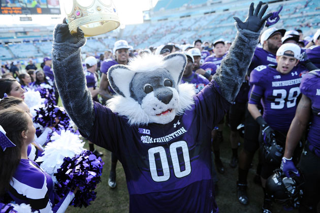 Northwestern got the bowl victory monkey off their back, but can they best the Buckeyes? (Melina Vastola/USA TODAY Sports)