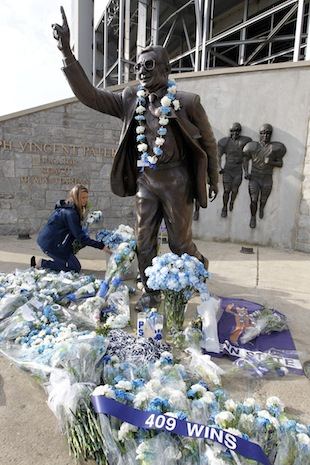 Victim 4 wishes he had been given input in the fate of the Paterno Statue and Penn State