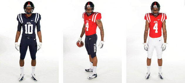 Quarterback Bo Wallace is not impressed with Ole Miss' new uniforms