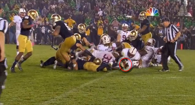 Controversial ending to ND-Stanford game adds fuel to this rivalry