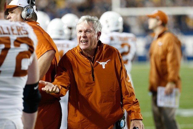 Texas coach Mack Brown (USA Today Sports Images)