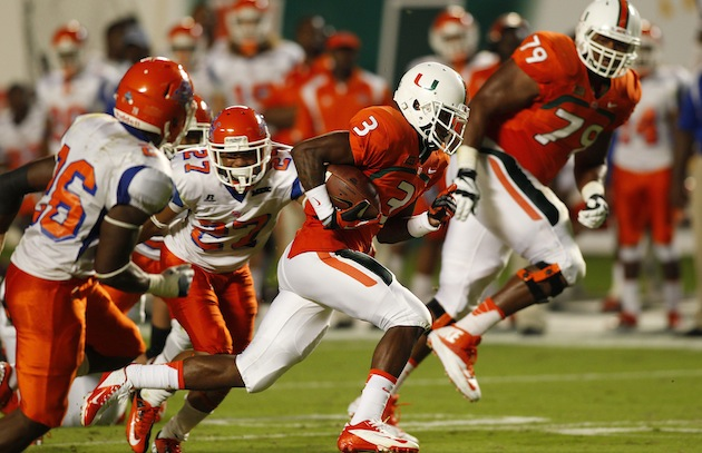 Miami and Savannah State only played 57 minutes Saturday (USA Today Sports Images)