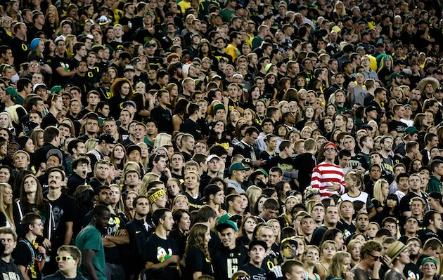 Where's Waldo? The children's book character is becoming a college football staple