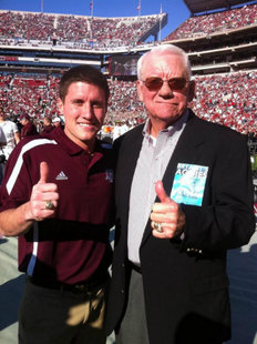 """Sideline Guy"" and John David Crow (TexAgs.com)"