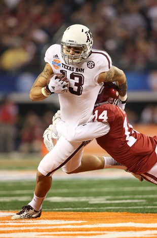 Texas A&M receiver Mike Evans (USA Today Sports Images)