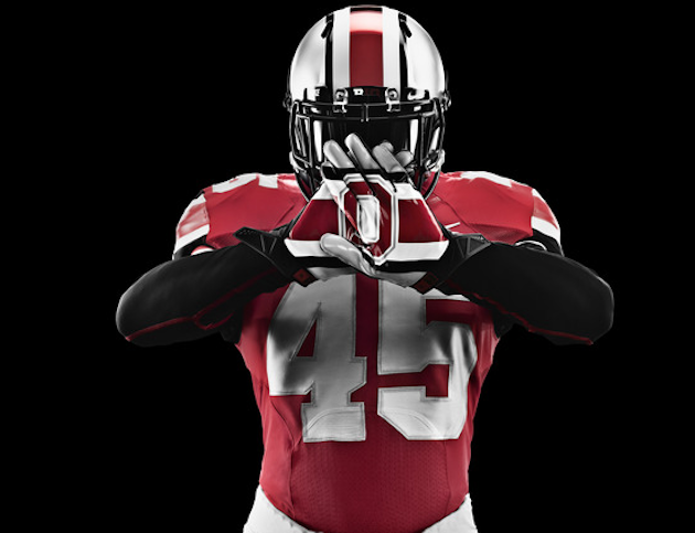 Ohio State adds a chrome helmet to its uniform repertoire