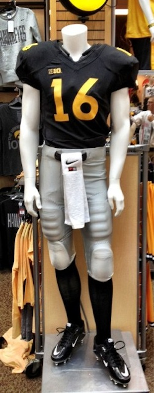 Rumor circulates about about another Iowa uniform