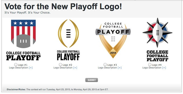 Fans can pick the new College Football Playoff logo