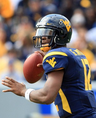 West Virginia QB Geno Smith (Associated Press)