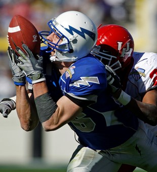 Former Air Force receiver Spencer Armstrong (USA Today Sports Images)