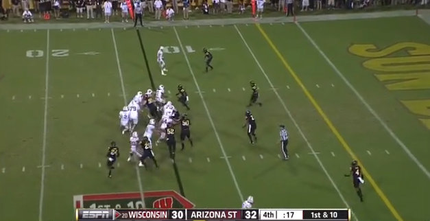 Film Study: What went wrong in the final seconds of Wisconsin-Arizona State