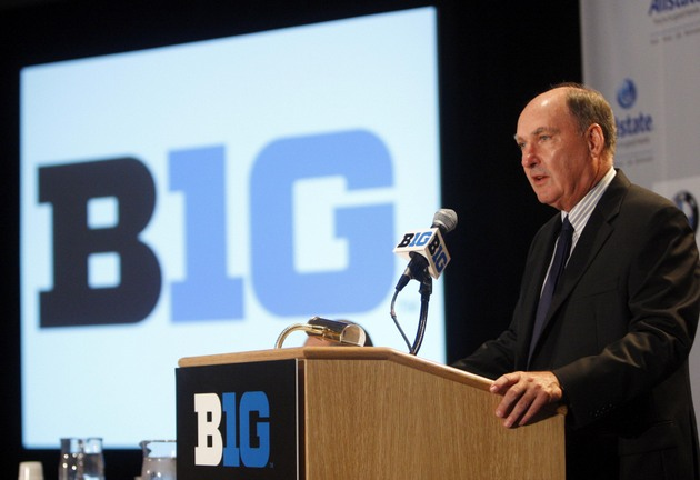 Big Ten commissioner Jim Delany (USA Today Sports Images)