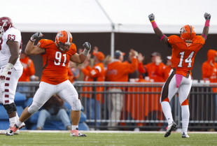 Bowling Green DT Chris Jones (91) (USA Today Sports Images)
