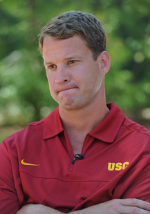 USC coach Lane Kiffin (US Presswire)