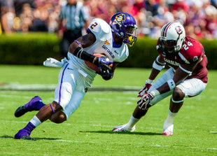 ECU WR Justin Hardy (USA Today Sports Images)