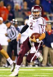 Texas A&M QB Johnny Manziel (US Presswire)