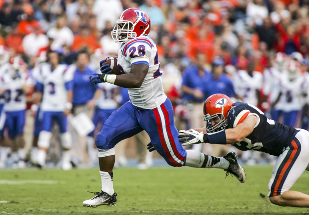 Louisiana Tech RB Kenneth Dixon (US Presswire)