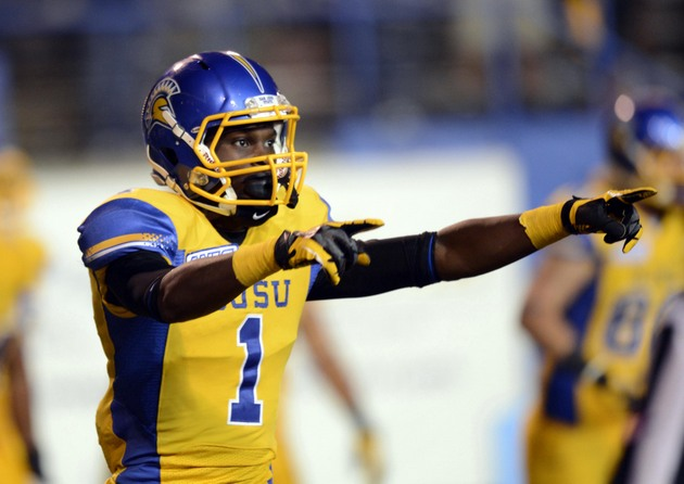 San Jose State WR Jabari Carr (USA Today Sports Images)