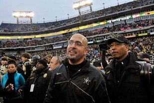 Vanderbilt coach James Franklin (USA Today Sports Images)