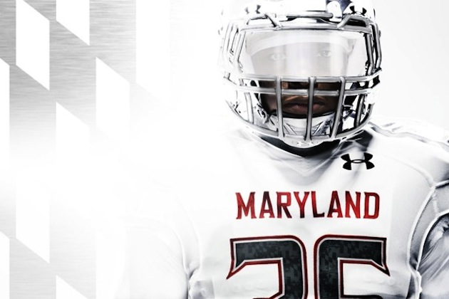 Maryland goes 'white out' for a game in West Virginia's stadium