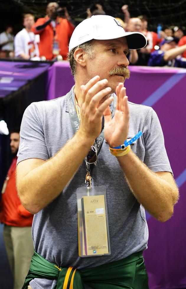 Will Ferrell Coach Locker Room