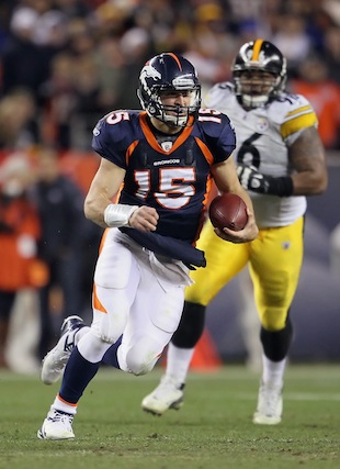 Broncos and Steelers were already scheduled for Sunday night op…