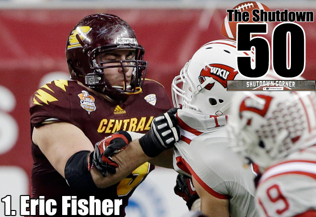Eric Fisher: Our pick as the best player in this draft class. (AP)