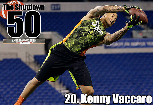 Kenny Vaccaro makes plays that other safeties simply can't. (AP)