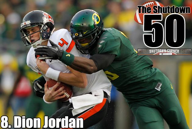 Dion Jordan is a rare player in a lot of different ways. (AP)
