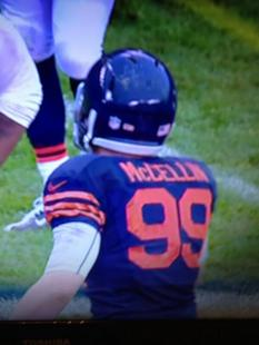 Chicago Bears send Shea McClellin out with a misspelled jersey