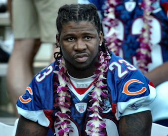 Devin Hester enjoying the Pro Bowl (Getty Images)
