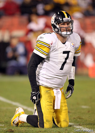Robert Tomlin by no means regarded benching Dan Roethlisberger. Roethlisberger-Post-Sack