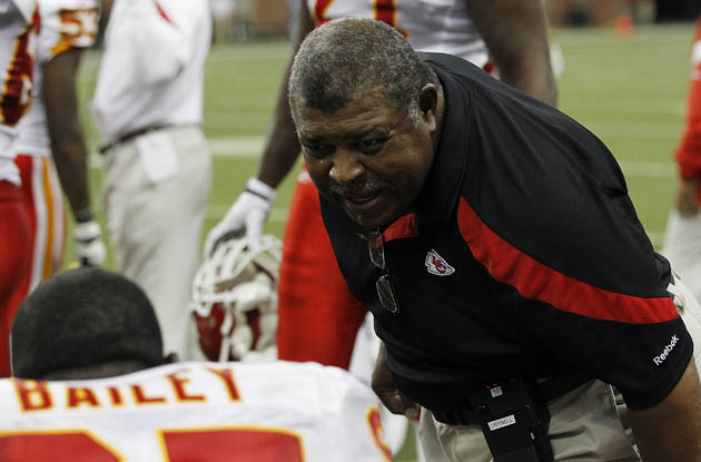 Romeo Crennel (Leon Halip/Getty Images)