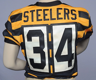 James Harrison doesn't like the Steelers' throwback jerseys