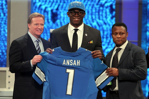 Ziggy Ansah, the hipster from Ghana (USA Today Sports Images)