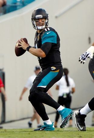 Jacksonville QB Blaine Gabbert (USA Today Sports Images)