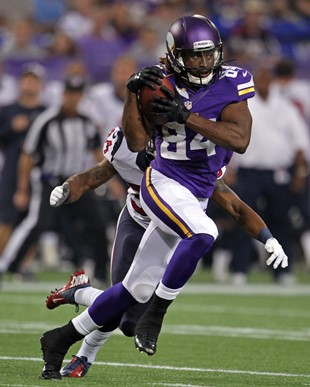 Vikings WR Cordarrelle Patterson (USA Today Sports Images)