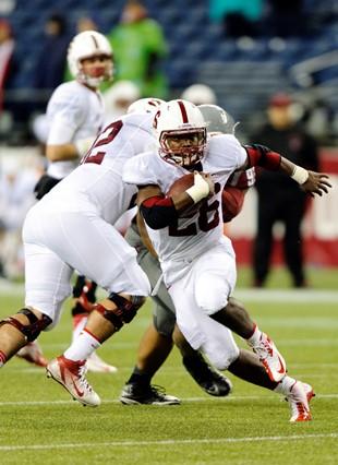 Stanford RB Barry Sanders Jr., the son of the Hall of Fame back (USA Today Sports Images)