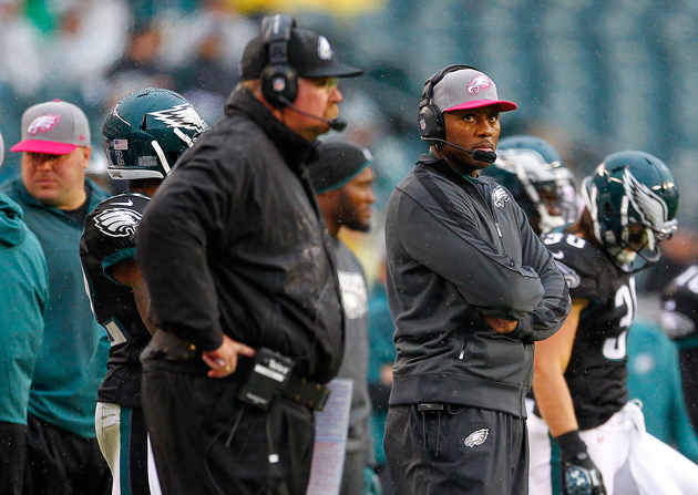 Todd Bowles was there for the end of Andy Reid's ride in Philly. (Getty Images)