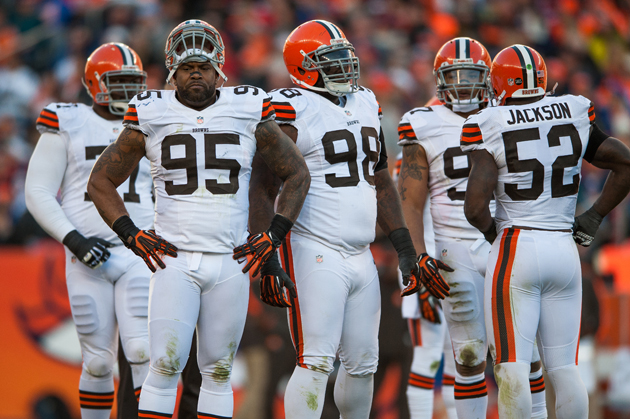 The Browns might have one of the best front sevens in the NFL this season. (Getty Images)